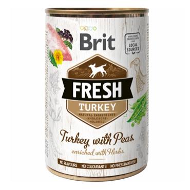 Brit Fresh Turkey with Peas vådfoder