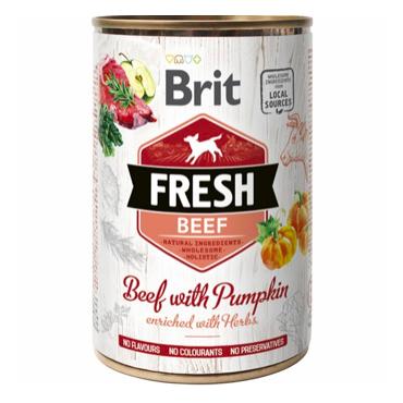 Brit Fresh Beef with Pumpkin vådfoder.