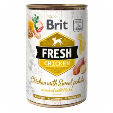 Brit Fresh kylling med sødekartoffel