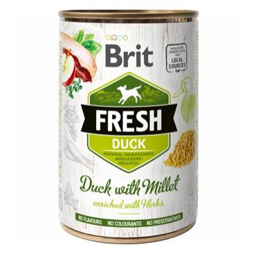 Brit Fresh and med hirse vådfoder