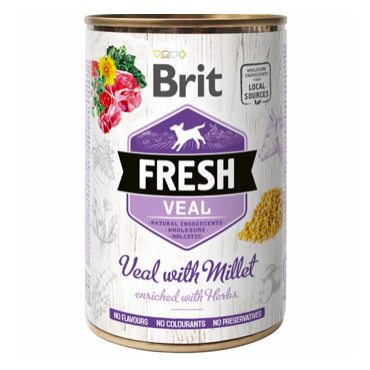 Brit Fresh Kalvekød og Hirse