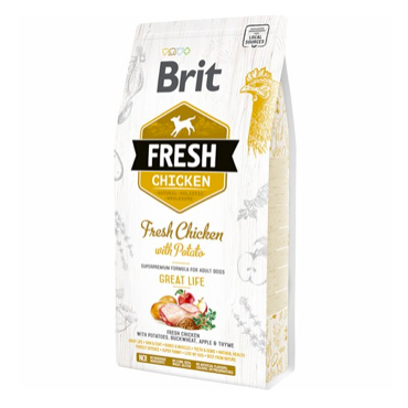 Brit Fresh Adult Great Life med kylling