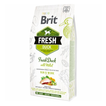 Brit Fresh Active Run & Work med and