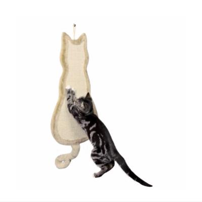 Kradsebræt udformet som en kat