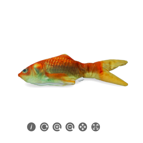 Robocat - den levende legetøjsfisk.